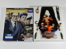 Kingsman The Secret Service Blu-ray Steelbook With Lenticular Slip by Zesty HDN
