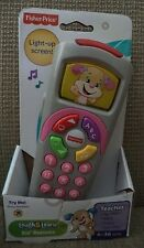 FISHER PRICE LAUGH & LEARN SIS REMOTE PINK 35+ TUNES SOUNDS & SONGS *NEW*