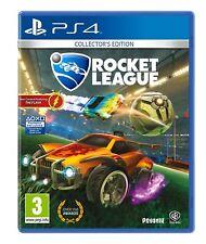 Rocket League Collector's Edition + 3 DLC Packs + Art Print Playstation 4 PS4 !!