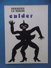 CALDER Derrière le Miroir n° 212 DLM 8 Lithographies Tirage original 1975