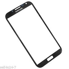 OEM Black Front Replacement Screen Glass Lens for Samsung Galaxy Note 2 N7100
