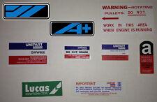 Austin Mini Metro Sticker Pack - City Mayfair HL HLS HLE 1.0 1.3 Advantage GTA