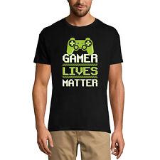 ULTRABASIC Homme T-shirt Gamer Lives Matter - La vie des joueurs compte - Gamer