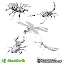 Metal Earth Arthropods DIY 3D Metal Model Kit New Insects Official Fascinations