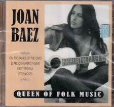Joan Baez Queen Of Folk CD de Música Fabricado en Chile Nuevo y Sellado