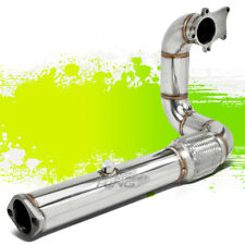 FOR HONDA ACURA D/B SERIES CIVIC T304 STAINLESS T3 TURBO DOWNPIPE DOWN PIPE