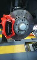 4 Pegatinas sticker caliper pinzas de freno Amg Mercedes Benz 8 cm