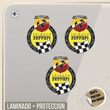 PEGATINA KIT ABARTH TRIBUTO FERRARI FIAT VINYL STICKER DECAL ADESIVI