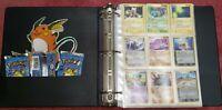 HUGE VINTAGE 3 LB.+ 41-Page Pokemon Card Binder LOT 2004-2006 Era Organized Sets