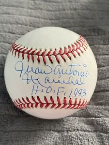 Juan Antonio Marichal HOF 1983 Full Name Signed Baseball Beckett COA Giants