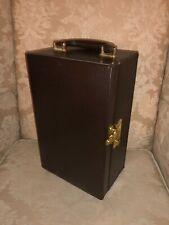 Travel Leather Bar Box