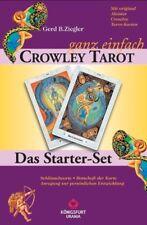 Crowley - ganz einfach, Tarotkarten u. Buch Ziegler, Gerd B.