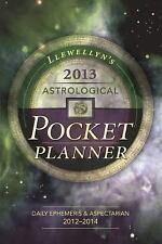 Llewellyn's 2013 Astrological Pocket Planner: Daily Ephemeris & Aspectarian