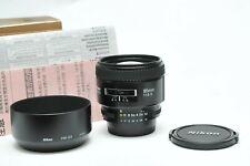 Nikon 85mm f/1.8D Auto Focus Nikkor Lens