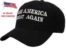 President Donald Trump Make America Great Again Hat US Republican Cap Black Only