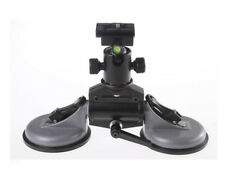 2 Cups Car Suction Stabilizer Tripod Mount With Ball Head For Video DSLR Camera
