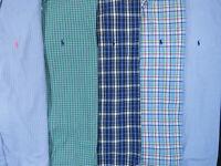 Lot Of 5 Ralph Lauren Polo Short Sleeve Button Front Shirts Mens XL 1 NWOT