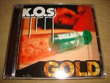 K.O.S - Gold  (SHA-KARL PLAETTER PI ANGSTGEGNER RHYMIN SIMON)