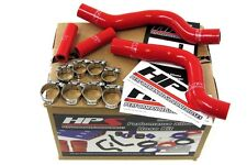 HPS Red Silicone Radiator Hose Kit Coolant OEM Replacement 57-1257-RED RM250