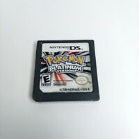 Pokemon Platinum Version Nintendo DS 2009 Authentic LOOK Ships Today