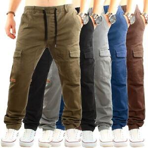 Früchtl Herren Cargo Chino Hose Jogger Jeans Cargohose Jogginghose Stretch Pants