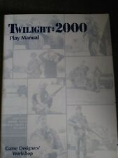 1986 G.D.W Twilight 2000 play manual nice condition