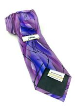 Jerry Garcia Tie Rare Purple Snake Garden Limited Edition Collection 42 Silk