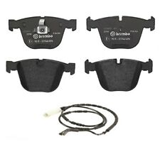 Low-Met Rear Brake Pads & Wear Sensor Brembo For BMW E82 E90 E92 E93 1 Series M3