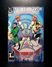 COMICS: DC: Secret Origins #47 (1990), Chemical King/Karate Kid/Ferro Lad - RARE