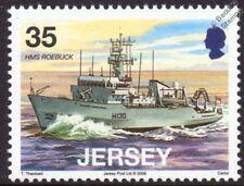 HMS ROEBUCK H130 Coastal Survey Ship Royal Navy Warship Stamp (BNS ANUSHANDHAN)