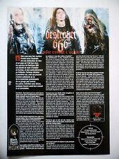 COUPURE DE PRESSE-CLIPPING :  DESTROYER 666  07/2002 Simon Berzerk,Cold Steel...