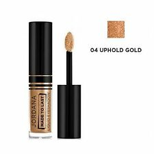 JORDANA Made  To Last Liquid Eyeshadow -04 UPHOLD Gold- Made in USA. By Jordana