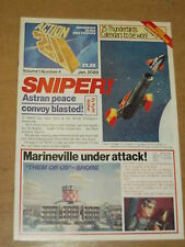 ACTION 21 VOL 1 #4 THUNDERBIRDS GERRY ANDERSON JANUARY 1989 BRITISH MAGAZINE^