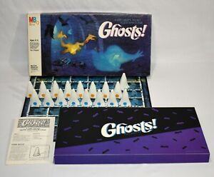 Rare Complete Vintage Milton Bradley Ghosts! Board Game From 1985 0221!!!