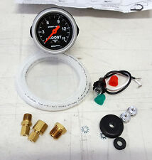 "SALE Auto Meter Sport-Comp 0-15 Psi Mechanical Boost Pressure Gauge 2 1/16"" 52mm"