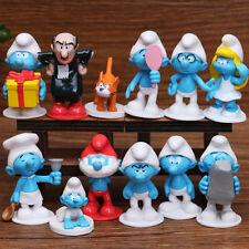 Juguete Set Toy Pastel1 2PZAS el Smurfs Pitufina Gargamel Acción de Figura