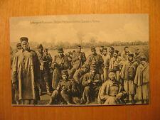 ~1916 AK Gefangene Franzosen Belgier Senegalschützen Zuaven Turkos POW