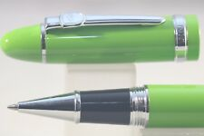 New Jinhao No. 159 Lacquered Green Rollerball Pen with Chrome Plated Trim