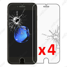 4 Film protection écran VERRE Trempé Vitre anti casse Apple iPhone 7 Plus 5.5 ""