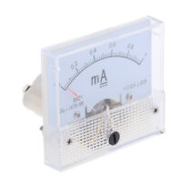 DC 0-1mA Analog Amp Meter Ammeter Current Panel Ampere Meter Milliammeter