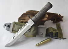 New Sharp Stainless Steel Fighting Dagger Camping Knife TK 155468 with Cover