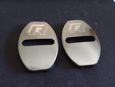 2 cover serratura  sportello R line Per Golf 4 5 6 7 passat Tiguan Polo scirocco