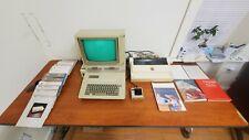 Apple IIe (2e) Computer Monitor,Double Disc Drive,Printer,Manuals, Discs, Games!