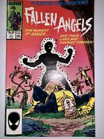 Fallen Angels #1-8, VF, Marvel 1987, Complete Limited Series, New Mutants, X-Men