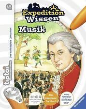 Ravensburger Tiptoi ® Expedition Wissen : Musik Wieso? Weshalb? Warum? Neu & Ovp