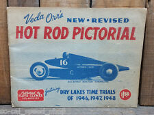 ORIGINAL 1949 VEDA ORR'S HOT ROD PICTORIAL BONNEVILLE SCTA RACING VTG FLATHEAD
