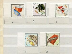 FAUNA_994 1968 marine life fish birds animals MNH Combined payments & shipping