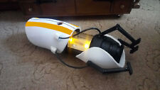 Portal Gun Yellow  stripes Device Science Handheld P body ATLAS Cosplay