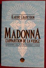 madonna livre madonna l'apparition de la vierge. FRANCE.