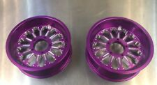 Goped Pocket Bike 66/72mm Billet Crucifier Rims-Purple
